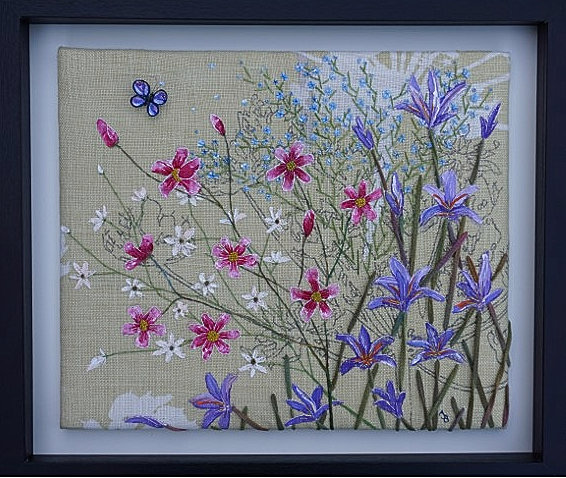 From Paint to Stitch: Creative Floral Embroidery, Amy Baker